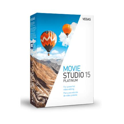 Movie Studio 15 Platinum【家庭进阶版 + 序列号终身授权】