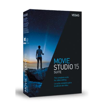 Movie Studio 15 Suite【家庭高级版 + 序列号终身授权】