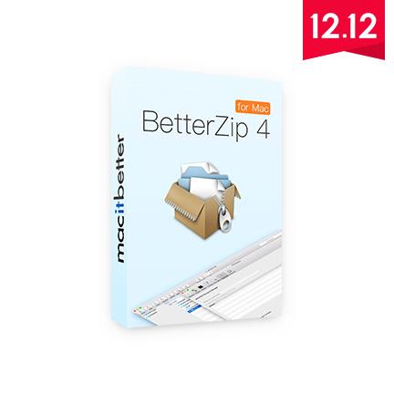 BetterZip 4【Mac+标准版+序列号】