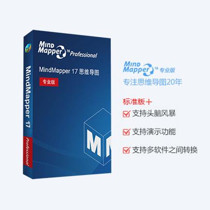 MindMapper 17【专业版 + 序列号终身授权 + 英文版】