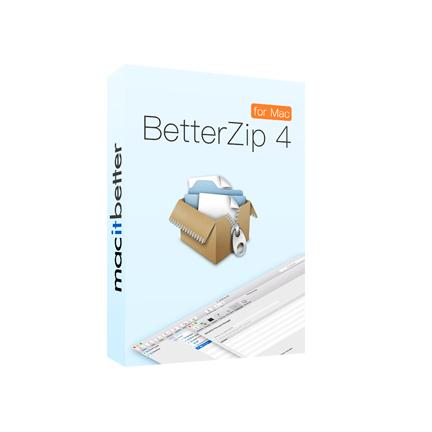 BetterZip 4【标准版 + 序列号终身授权 + Mac】