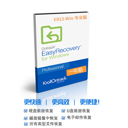 EasyRecovery 13 for Win【专业版 + 序列号1年期授权】