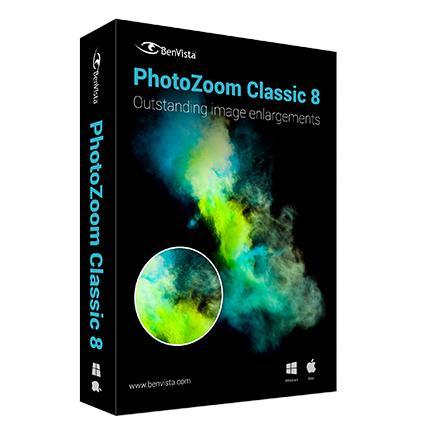 PhotoZoom Classic 8 简体中文【家庭版 + Win/Mac】