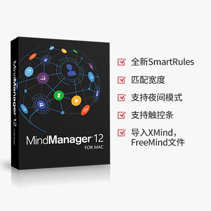 MindManager 12 英文【标准版 + Mac】