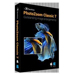 PhotoZoom Classic 7 简体中文【家庭版+Win/Mac】